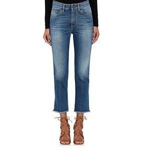 FIORUCCI Bibi Capri Jeans HIGH WAISTED Size 26